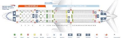 seat map boeing 777 200 british airways best seats in plane