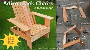 Diy Adirondack Chairs Diy Adirondack Chair In 8 Easy Steps Home Design Garden