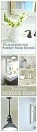 Designer Mirrors For Bathrooms Colors Industrial Farmhouse Bathroom Reveal Industrial Farmhouse