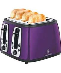 Russell Hobbs Toaster Heritage Bella Dots 6 Quart Slow Cooker Purple Suggested Retail Price