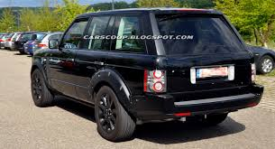 modified range rover scoop land rover spotted testing the 2013 range rover