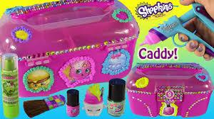 diy kins makeup toy caboodle decorate with dohvinci nail polish lip gloss fun