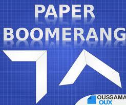How Do You Make A Paper Boomerang - paper boomerang 25 steps