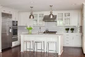 backsplash ideas for kitchen contemporary with custom cabinets