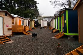 tiny houses tiny house village low income housing institute