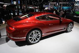 bentley red 2017 frankfurt auto show the new bentley continental gt