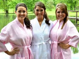 waffle robes for bridesmaids monogrammed robe waffle robe kimono spa robe personalized robe