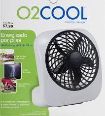 Rite Aid Home Design Solar Lights O2 Cool Desktop Fan 1 0 Ct Walmart Com