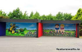 mural painting professionals featurewalls ie featurwalls mural featurwalls mural artists airbrush dina school mural in primary school in galway