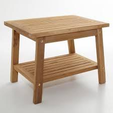 teak shower stool with shelf ada compliant bathroom