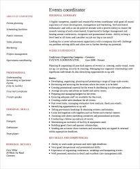 event planner resume event coordinator resume present representation manager summary best