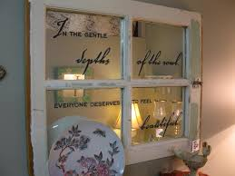 Window Mirror Decor by Beautiful