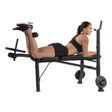 Weight Bench Leg Exercises Wb40 Weight Bench Tunturi New Fitness