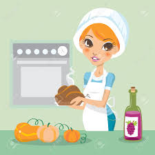 how to season turkey for thanksgiving young woman cooking turkey on thanksgiving royalty free cliparts