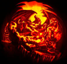 dragon pumpkin carving ideas awesome scary pumpkin carving ideas 65 in home decor ideas with