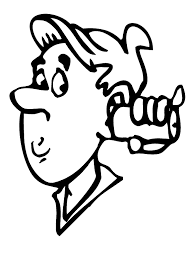 coloring pages man tin telephone coloring man