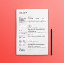Adobe Illustrator Resume Template Best Free Clean Resume Templates In Psd Ai And Word Docx Format