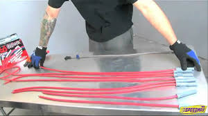 build your own msd spark plug wires youtube