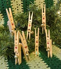 vintage handmade ornament clothes pin reindeer