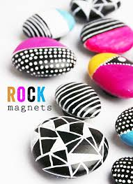 25 magnets crafts ideas marble magnets glass