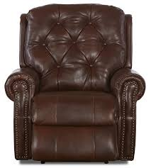 Rocker Recliner Swivel Chairs by Traditional Swivel Rocking Recliner With Attached Back Pillows And