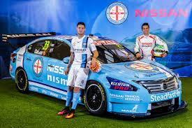 nissan australia dealers melbourne nissan unveils melbourne city fc supercars livery youtube