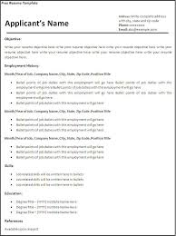 free easy resume templates student resume builder free 81 awesome