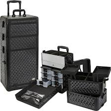 Rolling Makeup Case With Lights Wholesale Makeup Cases Wholesale Jewelry Boxes
