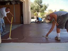 Refinishing Concrete Patio Concrete Driveway Repair Resurfacing And Decoration Concrete