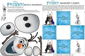 disney frozen free movie printables recess lv