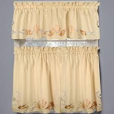 Jc Penneys Kitchen Curtains by Seabreeze Rod Pocket Window Treatments