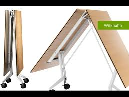Folding Conference Tables Confair Folding Table Mobile Conference Table By Wilkhahn