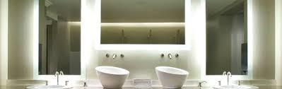Led Backlit Bathroom Mirror Backlit Bathroom Mirror Embassy Suites By West Bathroom Mirror