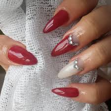 nail design red and white red white and blue nail design designs