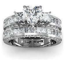 heart shaped wedding rings heart shaped diamond wedding rings best 20 heart diamond