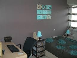 chambre turquoise et marron chambre marron turquoise