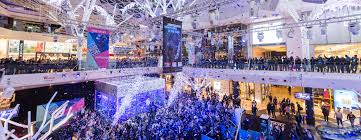 westfield lighting westfield in westfield london gets christmas kick off with katy b atv today