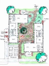 mediterranean house plans with courtyard best of tuscan style house plans with courtyard design mediterranean