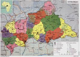 Map Of Central Virginia by Www Mappi Net Maps Of Countries The Central African Republic