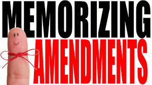 the us constitutional amendments easy ways to remember youtube