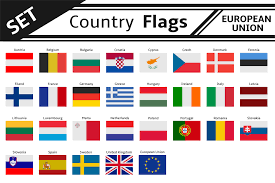 Taiwan Country Flag Set Countries Flags European Union Illustrations Creative Market