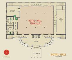 Marriage Hall Floor Plan | camelot convention centre royal hall offer king size banquet hall