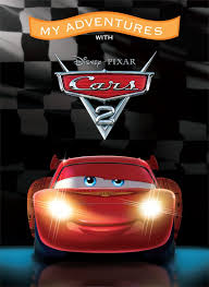 adventures disney pixar cars 2 large softcover