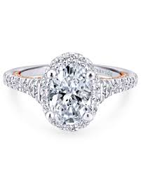 solitaire oval engagement rings oval engagement rings for the to be martha stewart weddings