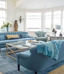 Blue Sofa Living Room Design by Beach Themed Living Room Surfing Board Shaped Table And Brown