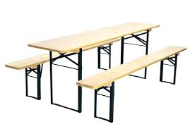 Folding Table And Bench Set Folding Table With Bench U2013 Amarillobrewing Co