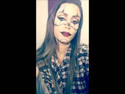 halloween makeup inspiration gangster clown halloween makeup chrisspy inspiration youtube