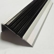 plastic stair treads cover for steps rubber stair nosing strip
