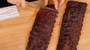 oven roasted ribs with barbecue sauce recipe u0026 video martha stewart