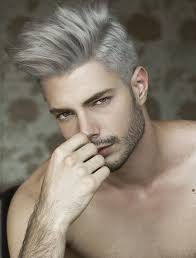 classic undercut hairstyle ombre hair color trends is the silver grannyhair style